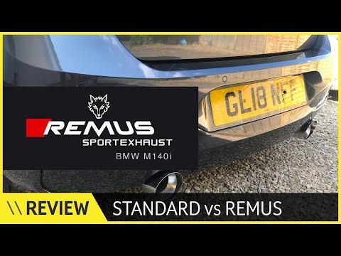 BMW M140i Remus Vs Standard Exhaust - It's Worth It!