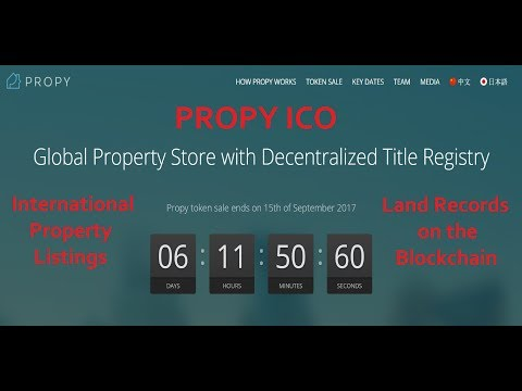 Propy ICO - 6 Days Left to Contribute!