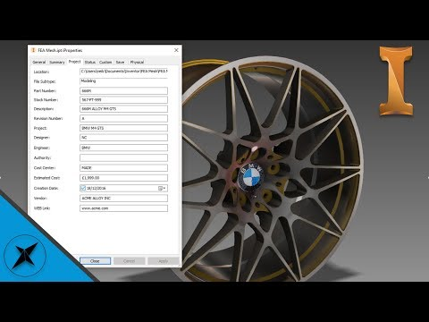 What are iProperties, Best Practice Use | Autodesk Inventor