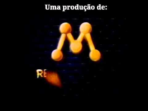 """Abertura da novela """"A história de Ana Raio e Zé Trovão"""" Manchete/SBT."""