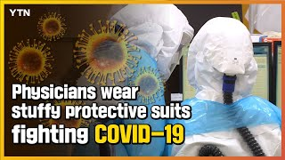 Physicians wear stuffy protect…
