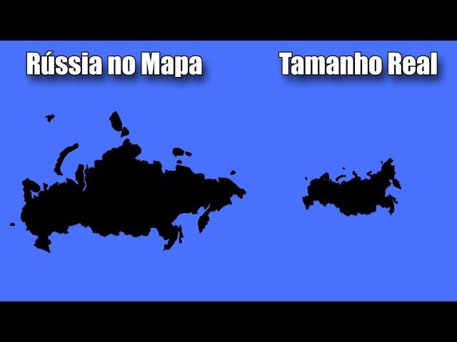 O Mapa Do Mundo Que Você Conhece Está Errado