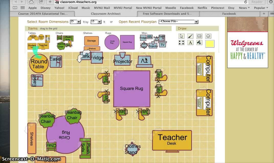 Classroom Floor Plan Design Online