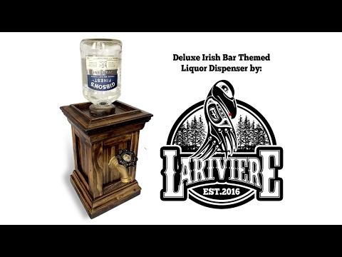 Deluxe Irish Bar Themed Liquor Dispenser