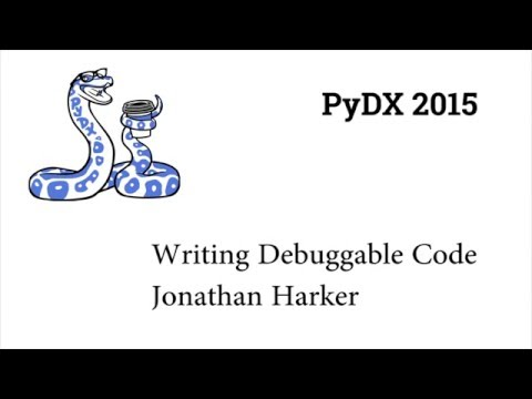 Image from PyDX 2015: Writing Debuggable Code