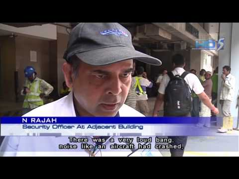 Two Dead In Tower Crane Collapse At Coleman Street - 30Sep2013