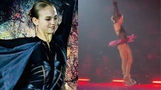 Трусова выступила с произвольной программой в ледовом шоу Плющенко