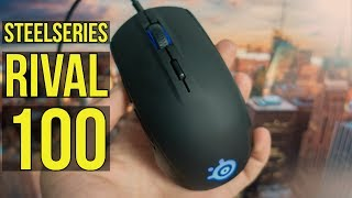✅ SteelSeries Rival 100 Gaming Mouse Review