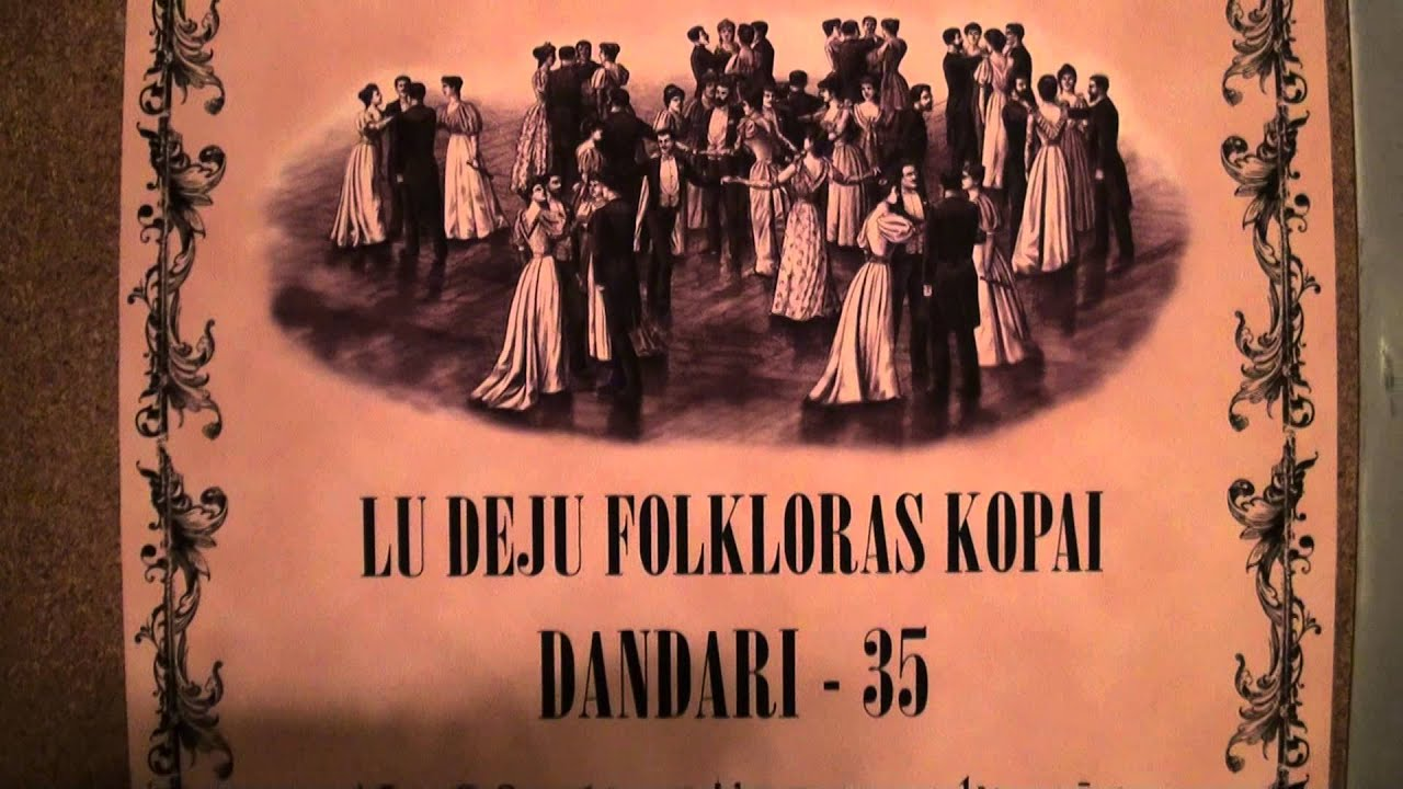 """00692  Folkloras mūzikas un deju kopas DANDARI 35 g. jubilejas  """"kadriļu balle"""""""