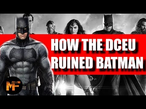 How the DC Extended Universe Ruined Batman (Video Essay)