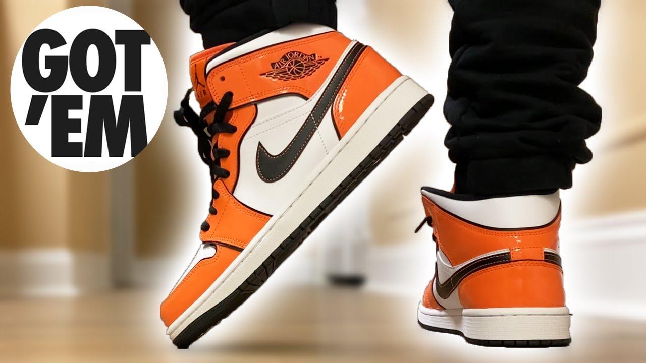Watch BEFORE You BUY! Jordan 1 Mid Turf Orange ON FEET!