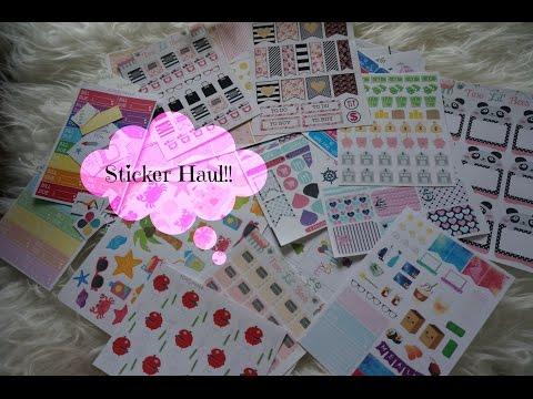 Plan with me | Pia Sticker | Sunshine - Buzy Bee kit