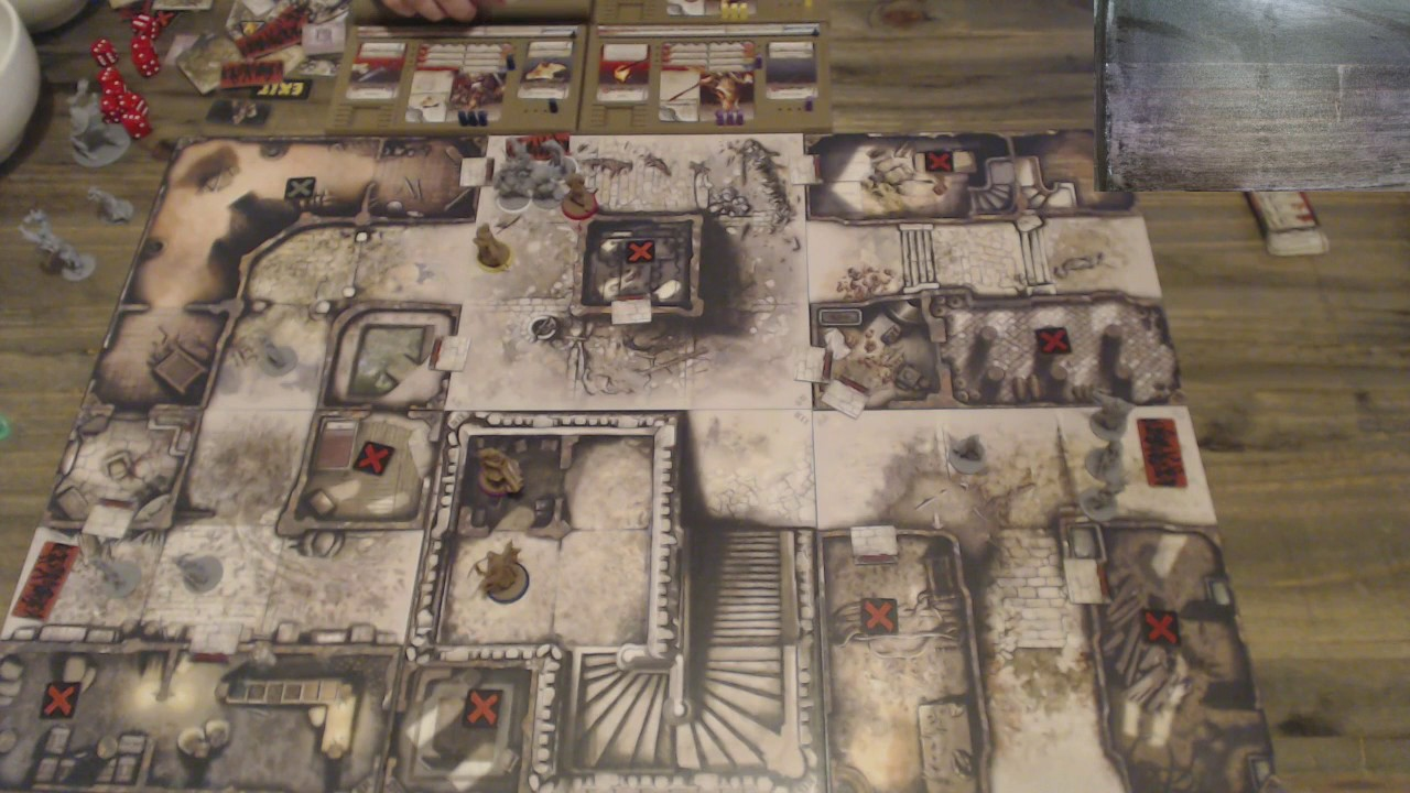 Zombicide Black Plague The Dragon Tower Youtube