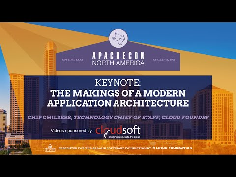 The Makings of a Modern Application Architecture