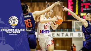 Croatia v Serbia - Full Game - FIBA U18 Women's European Championship 2019