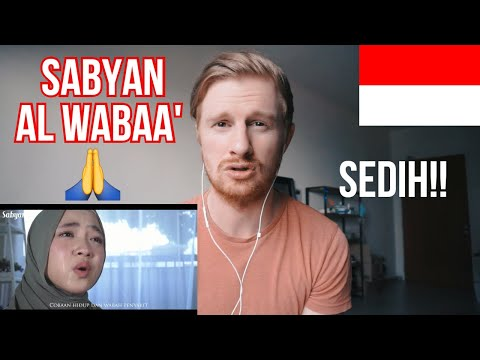 SABYAN - AL WABAA' (Official Music Video) Virus Corona (Coronavirus) // INDONESIA MUSIC REACTION