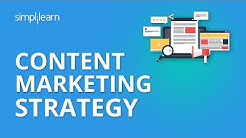 Content Marketing Strategy | Content Marketing Examples | Content Marketing 2019 | Simplilearn