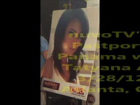2012 Atlanta Film Festival - nuvo TV presents: Pastport Panama Tatyana Ali- www.T4Vista.com