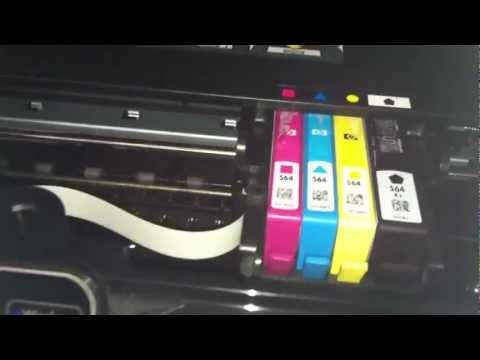 Hp 5510 Won't Print Black and Colors Printhead Removal and Cleaning