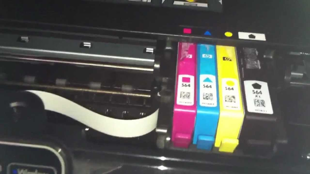 Hp Photosmart 5510 Wont Print Black Ink