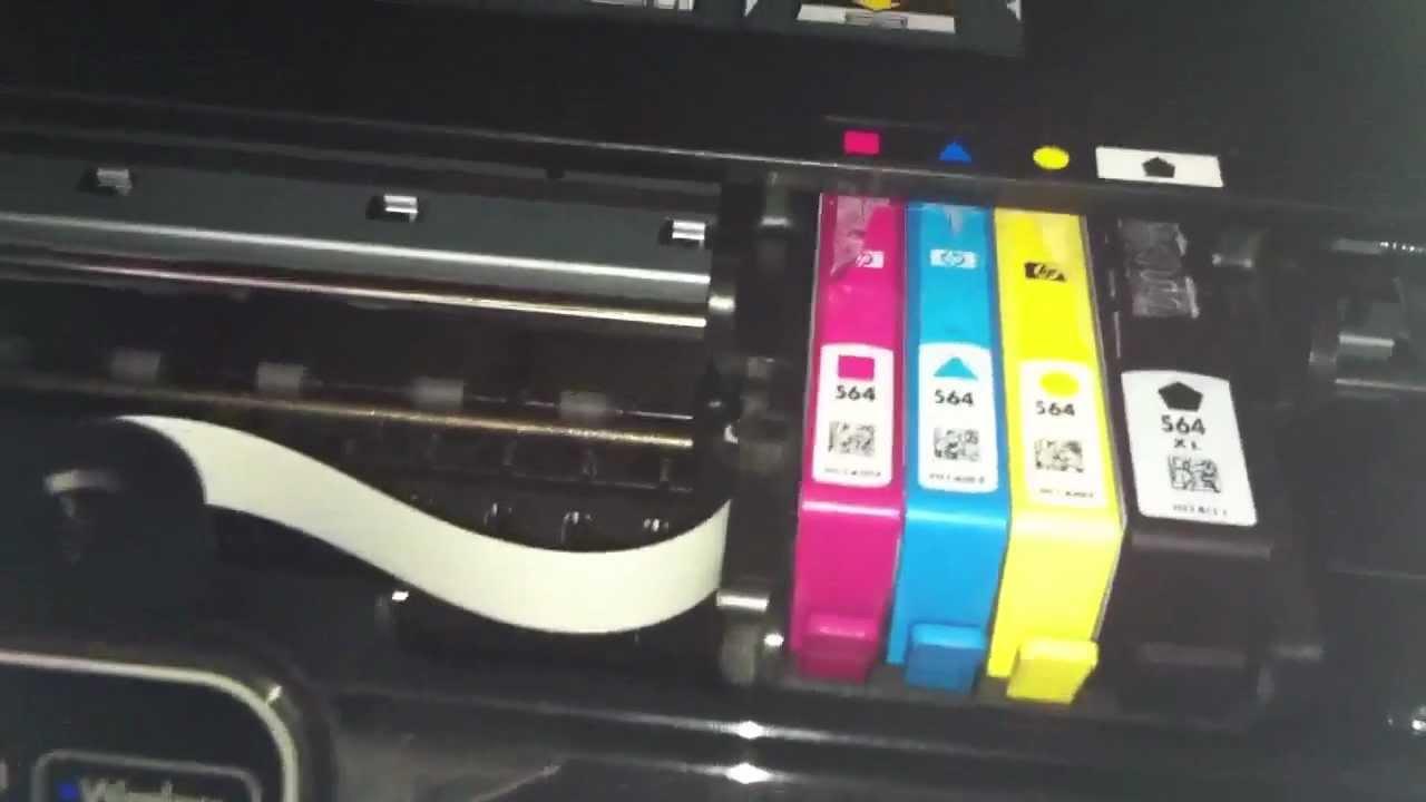 Hp Photosmart 5510 Won T Print Black Ink Youtube