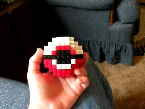 Lego Pokeball By Savedbyfaith001