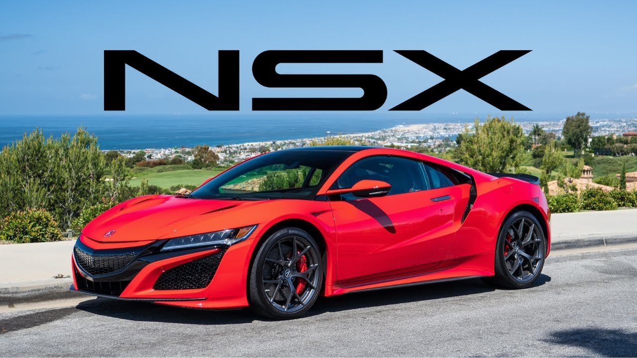 2020 Acura NSXs First Drive