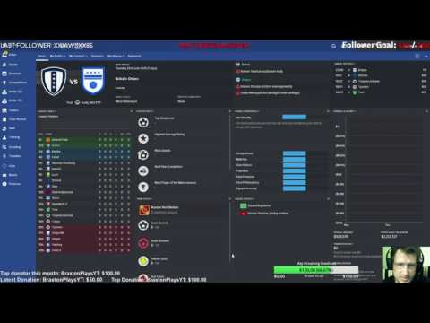 Let's play Football Manager 2016 - Streaming - Ep.01 - Blind noob from scratch