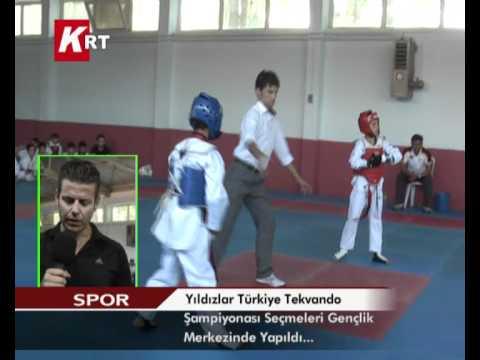 yıldızlar türkiye tekvando şampiyonası seçmeleri gençlik merkezinde yapıldı