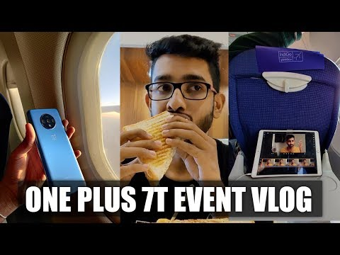 One Plus 7T Launch Event Vlog !