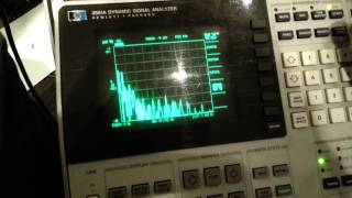 HP 3561 Dynamic Signal Analyzer (and chiptune)