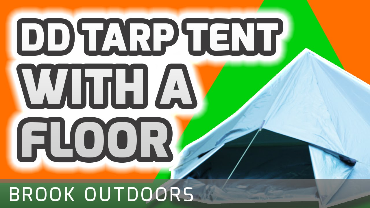 sc 1 st  YouTube & DD XL Tarp Tent with Floor Cover Tutorial - YouTube