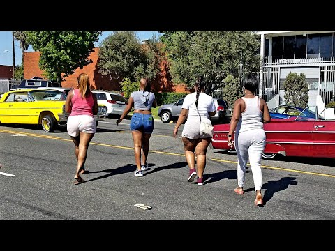 LOWRIDERS AND BOOTIES IN LOS ANGELES SUMMER 2018
