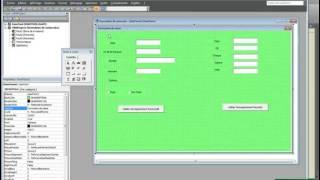 Creation d un formulaire de saisie avec userform.N°1