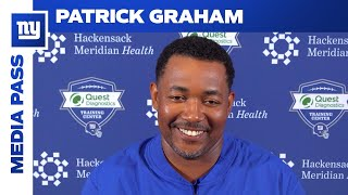 Patrick Graham Talks State of Giants' Defense | New York Giants