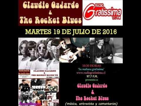 Claudio Gajardo & The Rocket Blues en Radio Gratíssima