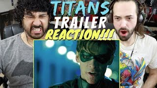 TITANS Official COMIC-CON TRAILER REACTION & REVIEW!!!