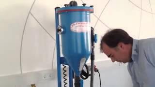 Mobile powder filling unit model PFF-SUMATIC-SWZ