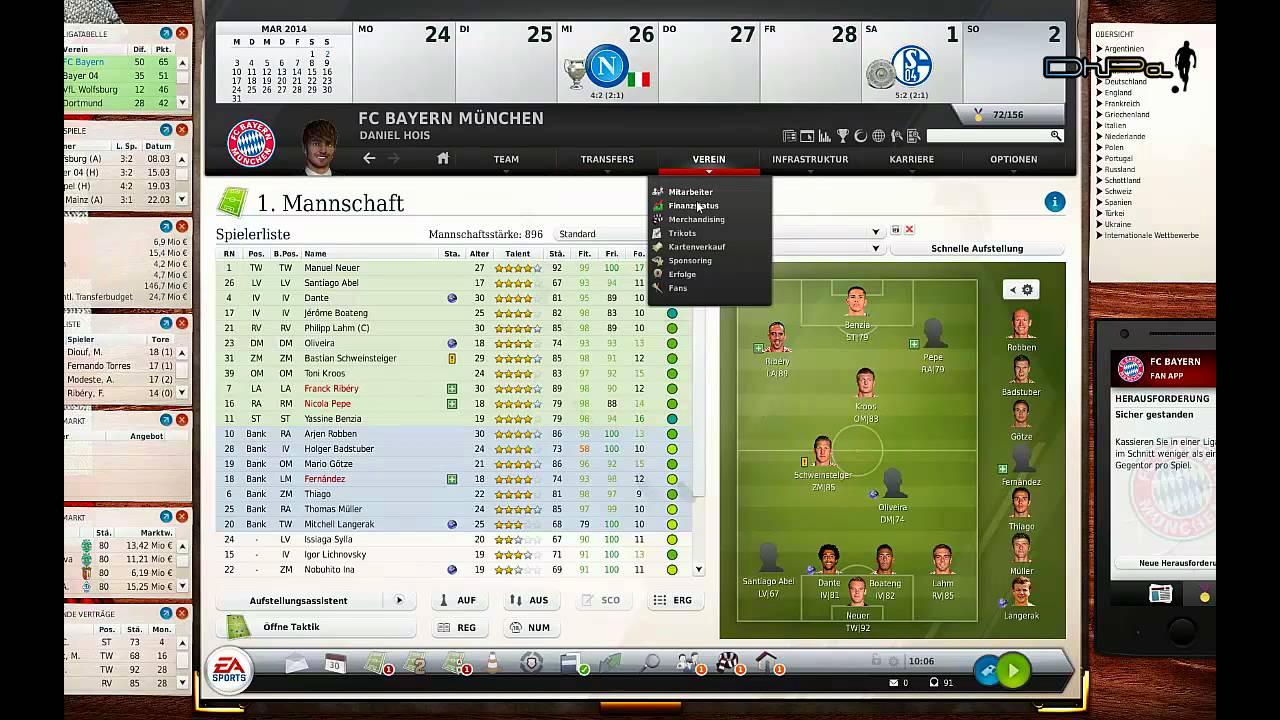 Fussball Manager 14 Losungen Zu Bugs Fm14 Youtube