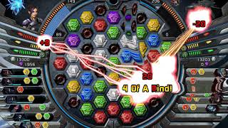 Puzzle Quest Galactrix: How I smash enemy ships in a single assault