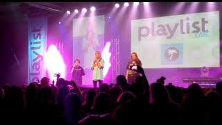 DailyGrace, Hannah Hart and Mamrie Hart Playlist LIVE Performance (including Fan Fic Reenactment)