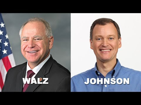 Walz And Johnson MN Gubernatorial Debate