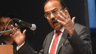WATCH Ajit Doval trashes Lutyens MEDIA and slams Shashi Tharoor