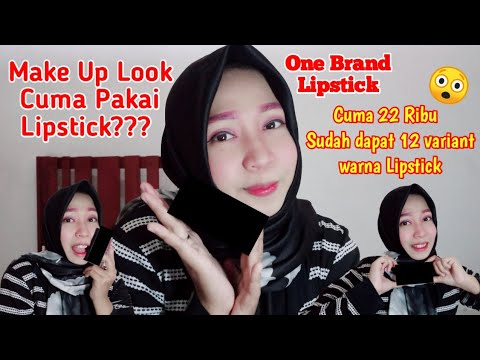 Full Make Up Look Using Lipstick??|One Brand Lipsctik thumbnail