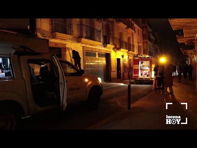 VÍDEO: Enganches ilegales a la red eléctrica provocan un incendio en Santiago. Es el tercero de estas características en los últimos meses