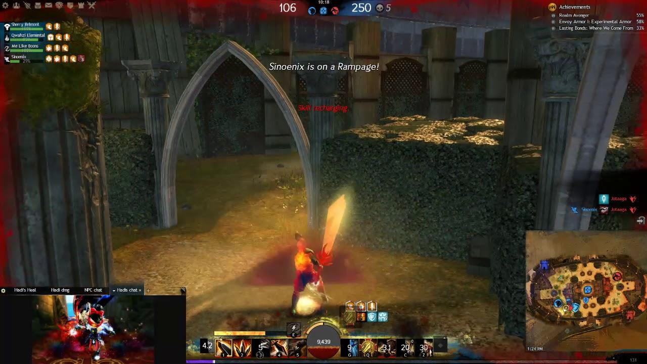 Guild wars 2- Hadi's Berserker build in PvP (2019)