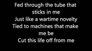 Repeat youtube video Metallica - One lyrics