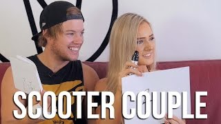 Scooter Couple Challenge!! (ft. Ryan Williams and Alex Prout) │ The Vault Pro Scooters