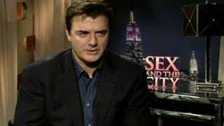 Chris Noth interview for the Sex and the City movie BIG