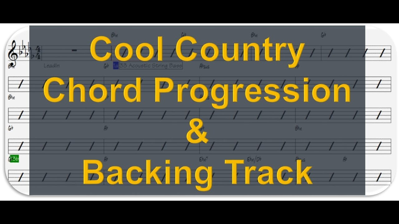 Classic country chord progression1 backing track youtube classic country chord progression1 backing track hexwebz Choice Image